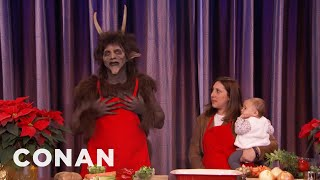 Kooking With Krampus  - CONAN on TBS