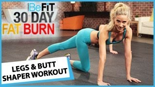 30 Day Fat Burn: Legs and Butt Shaper Workout(30 Day Fat Burn: Legs and Butt Shaper Workout is an explosive 10-minute lower body fat-burning workout that is designed to target tone the hips, thighs, legs, ..., 2014-02-04T12:30:02.000Z)