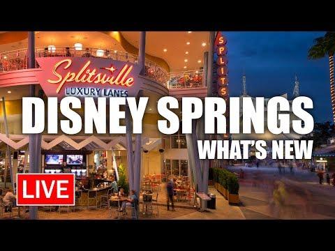 🔴 LIVE: What's New at Disney Springs | Walt Disney World Live Stream
