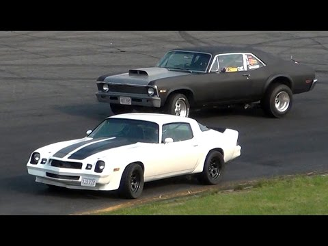 Seekonk Speedway Independence Day Thrill Show 2015 SPECTATOR DRAGS