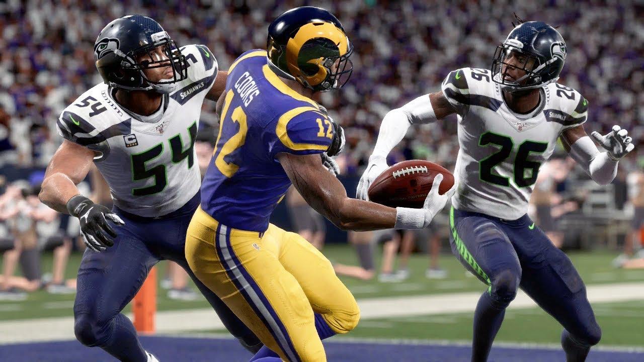 Nfl 12 8 Seattle Seahawks Vs Los Angeles Rams Full Game Nfl Week 14 Live Madden