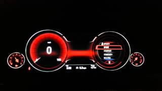 Digital Dash in NEW BMW 6 Series - 650i, 640i, 650i Grand Coupe