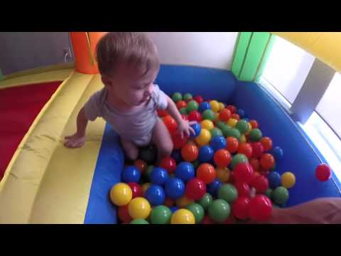 Thumbnail: REVIEW MY BOUNCER LITTLE CASTLE BOUNCE HOUSE W/ BALL PIT