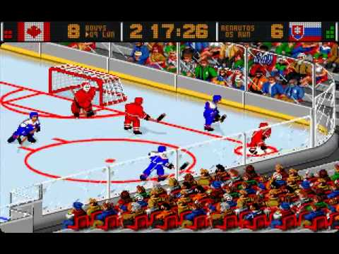 Merit Europe - Alex Dampier's Pro Hockey 95 - 1995