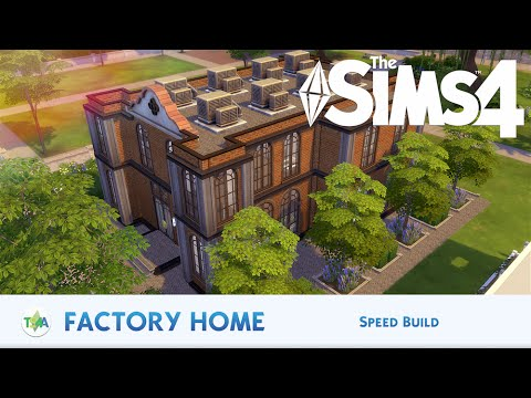 The Sims 4 | FACTORY HOME - SPEED BUILD