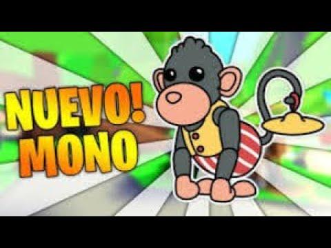 Loco Un mono Jouin Xd///Nueva Actualizacion Adopt me Roblox YouTube