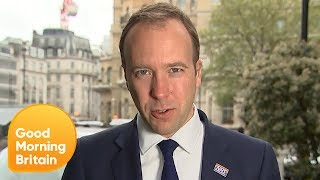 Health Secretary Matt Hancock Disagrees That Brexit Will Be Damaging For NHS | Good Morning Britain