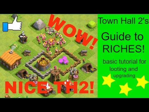 Clash of Clans - Town Hall 2 (TH2) tutorial and looting guide