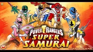 Süper Samurai Power Rangers-Power Rangers Games