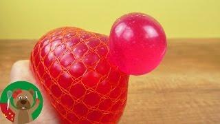 手工 自制DIY 按压球 黏黏胶 史莱姆 slime 减压球 展示