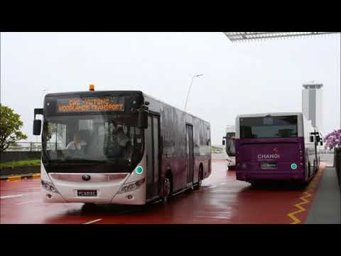 [Audio] Woodlands Transport Yutong ZK6126HGA (various buses on CGA T4 to T2 Shuttle)