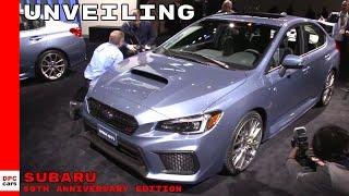 Subaru 50th Anniversary Edition Vehicles Unveiling