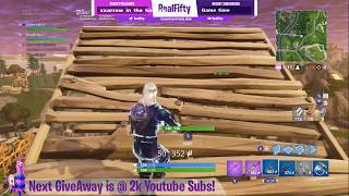 FORTNITE Season 5 Stream 73 Trying Builder Pro 1st time Galaxy Skin *NEW* Gifting
