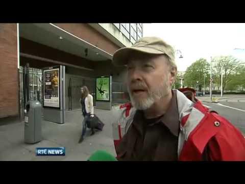 American Tourist pronouncing Irish counties on RTE News