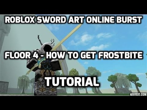 Sword art online burst roblox floor 4 how to get for Floor 5 swordburst 2