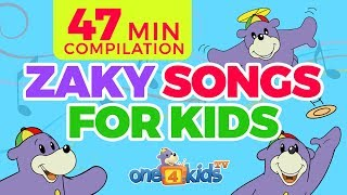 Download Islamic Songs 4 Kids with Zaky Song Compilation - 47 Minutes