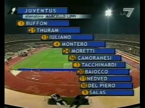 Juventus - Parma 2-1 (25.08.2002) Finale Supercoppa Italiana.