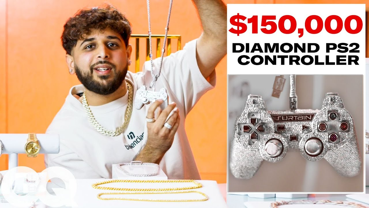 Leo Frost Shows Off His Insane Jewelry Collection | On the Rocks