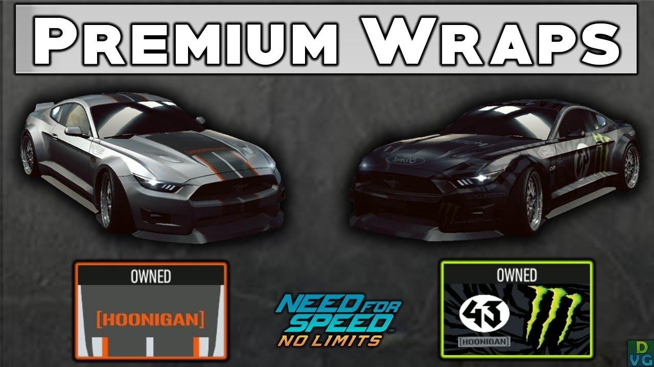 Nfs No Limits Premium Wraps Launch Mustang Car 43 Youtube