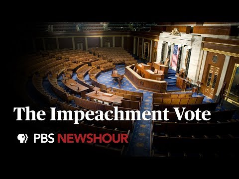 WATCH LIVE: House Votes On The Articles Of Impeachment Against Trump