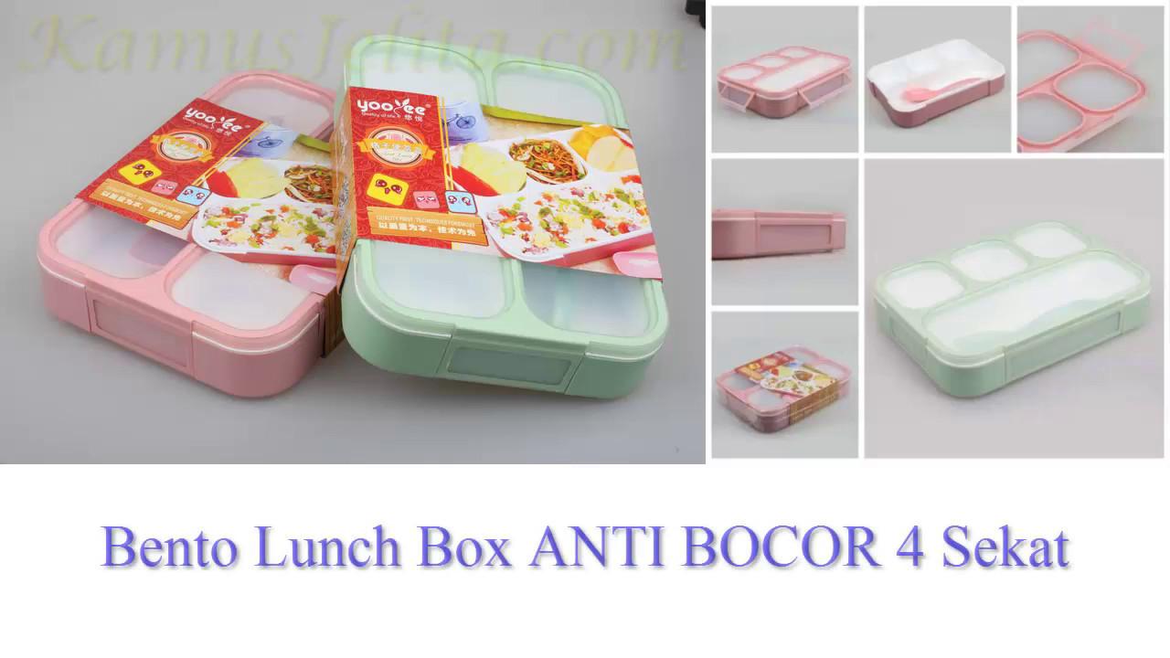 Image result for Yooyee Grid Box Lunch Box Kotak Makan 4 Sekat