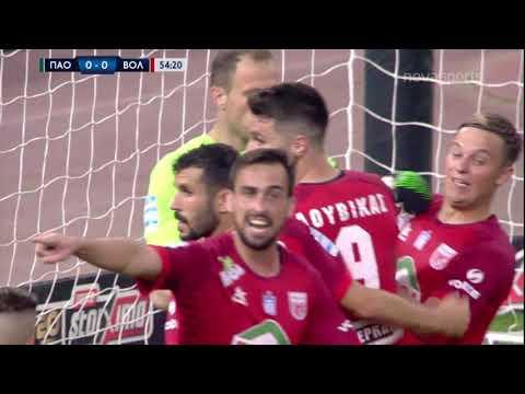 Panathinaikos Niki Volos Goals And Highlights