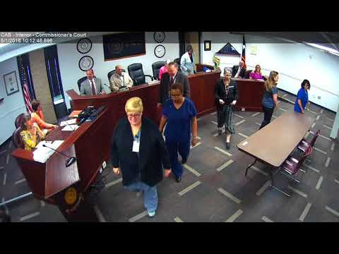 Brazos County Commissioners Court 05-01-18