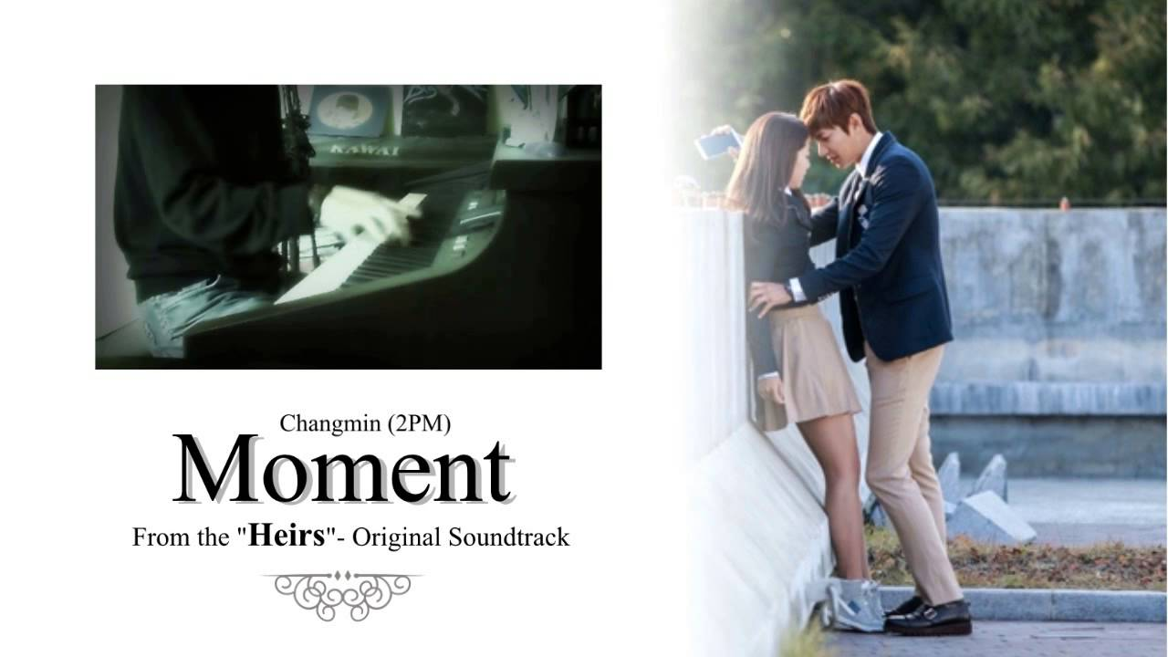 Changmin (창민) - Moment (HEIRS - Ost) [Piano Cover]