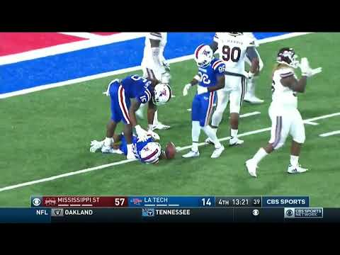 Louisiana Tech Loses 87 YARDS In One Play