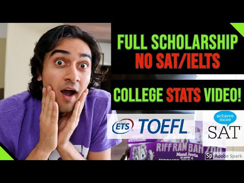 How To Get A Full Scholarship To Study In America Without Taking SAT,  IELTS And TOEFL   My Story