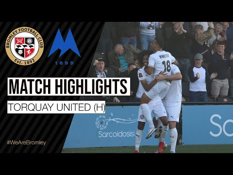 Bromley Torquay Goals And Highlights