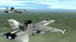 F/A-18 Korea  -  Intro Spanish/English version