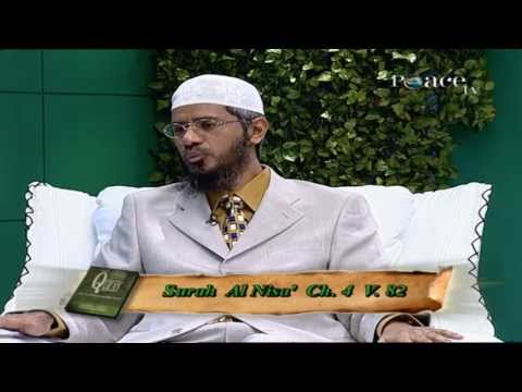 The reasons behind abrogation in the Qura'n | Dr Zakir Naik