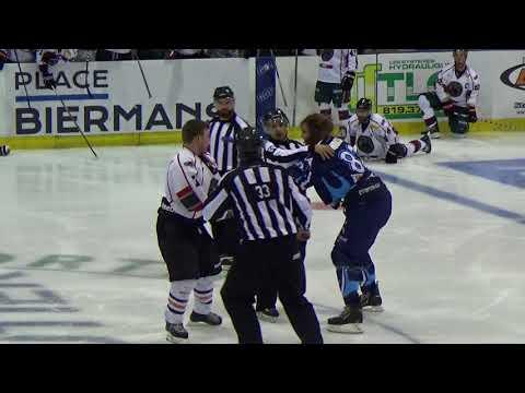 Pier-Luc Bourassa vs André Thibault  (2) Combats