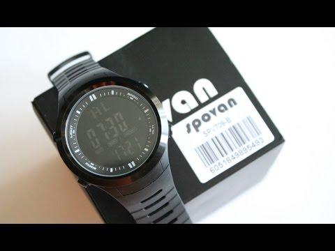 Часы SPOVAN SPV-709B, расширенный функционал (барометр, альтиметр, история)