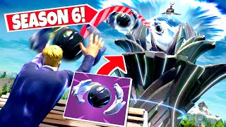 *NEW* THROWING Season 6 GUARDIAN ORBS Into *THE SPIRE* In Fortnite! (Secret Event)
