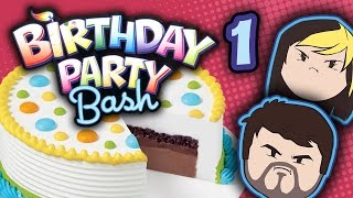 Birthday Party Bash: Beating Kids - PART 1 - Grumpcade