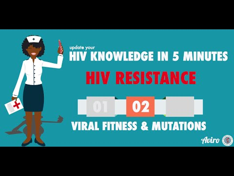 HIV Resistance: Genetic Barriers and Viral Fitness Part 2/3
