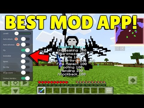 YOU CAN MOD Minecraft With This App! - The Best Modding App!!