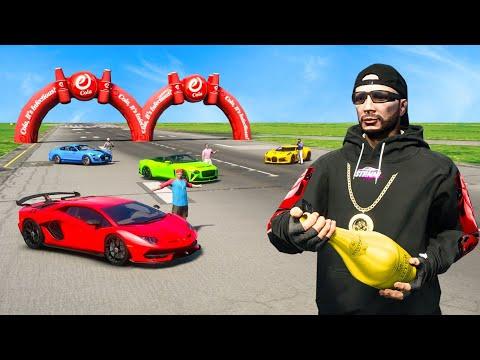das 5.000.000,00$ YOUTUBER RENNEN in GTA 5 RP!