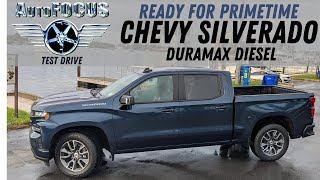 Chevy Silverado Duramax  Diesel is ready for prime time on AutoFOCUS TEST DRIVE