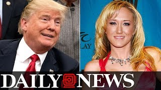 Second porn star claims Trump invited her to hotel room