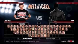WWE 2K15 Full Roster all superstars and legends