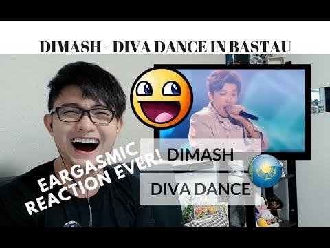 [REACTION] MY MOST EARGASMIC REACTION to DIMASH - DIVA DANCE | Bastau Saga | #JANGReacts