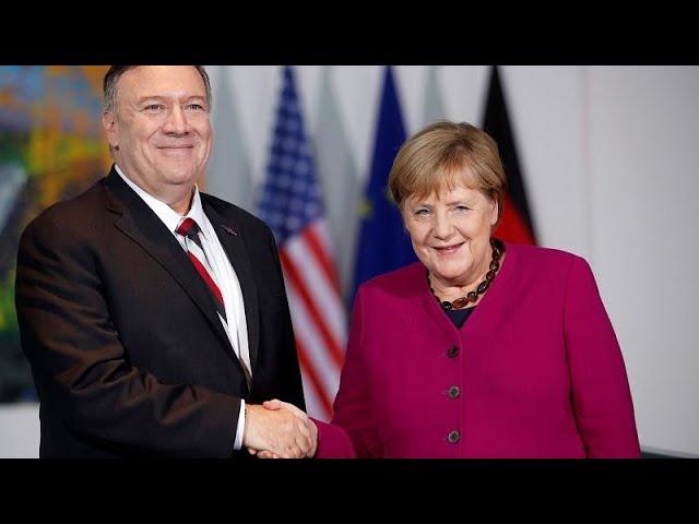 Merkel und Pompeo reagieren auf Macrons