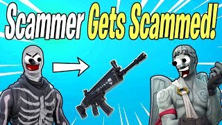 Why SCAMMER GETS SCAMMED Is So Popular | Fortnite Save The World