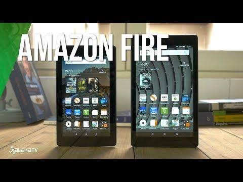 Amazon Fire 7 y Fire HD 8, review análisis en español