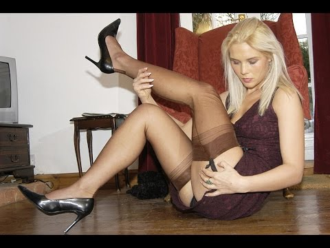 Pantyhose tights you tube can