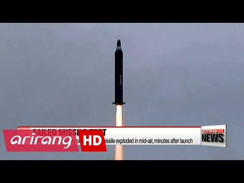 North Korea launches ballistic missile, ends in failure
