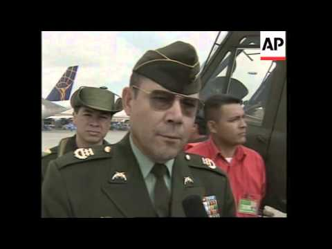 COLOMBIA: US DONATE 5 MORE HELICOPTERS TO COMBAT DRUG TRAFFICKING